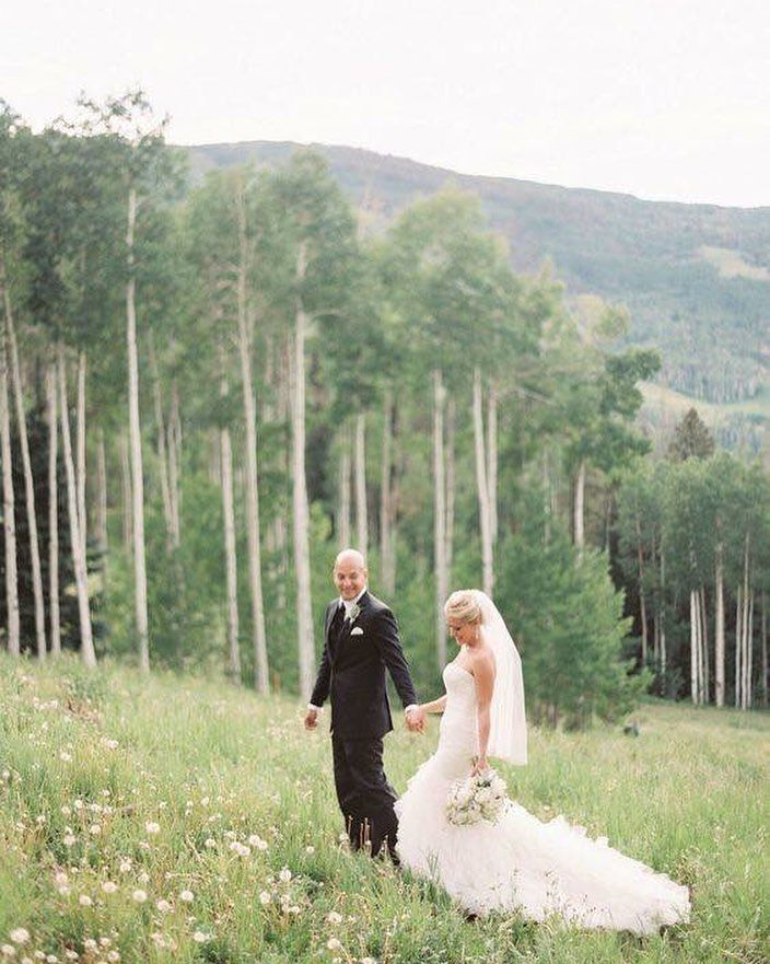 Talk About A View A Mountainous Wedding Just About Takes Our