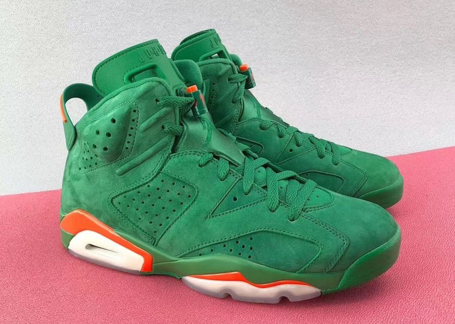fe69e87fb06 The Air Jordan 6 Gatorade In Green May Be Releasing Next Month | Air ...