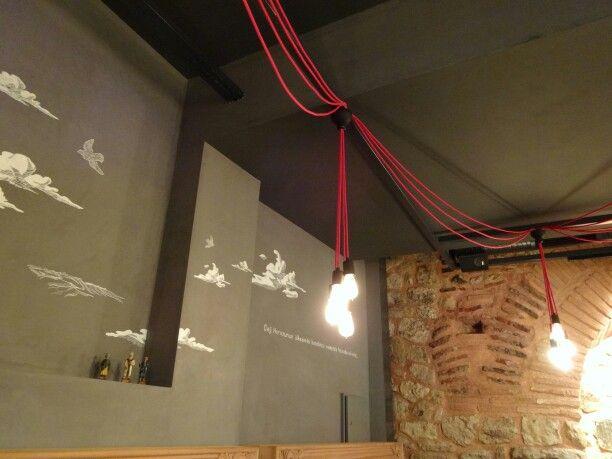 Küchenlampen Hängend ~ Lampen hangend aan strijkijzerdraad möbel pinterest
