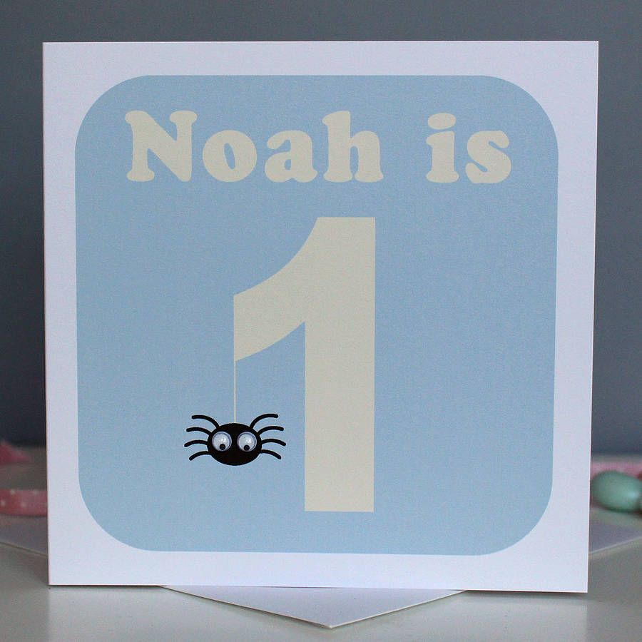 Personalised Animal And Age Birthday Card Personalized Cards And Cards