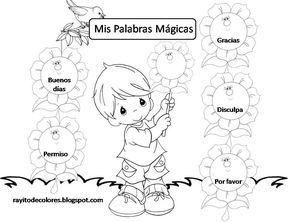 Cartel Mis Palabras Magicas Trabajo De Palabras Palabras Magicas Espanol De Escuela Primaria