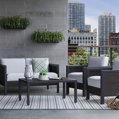 Bryant Faux Wood Patio Furniture Collection Project 62 Target Patio Furniture Collection Wood Patio Furniture Wood Patio