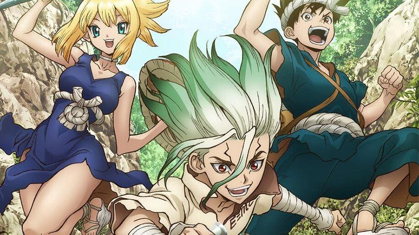 Dr stone season 2 release date stone wars arc chikyuji