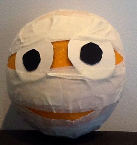 Orange Mummy