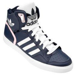c060096ed25d9 Tênis Adidas Extaball W - Marinho+Rosa Claro