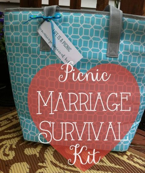 our life in a click get gifty picnic marriage survival kit