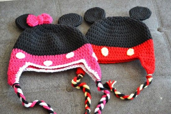 Mickey And Minnie Mouse Crochet Patterns Minnie Mouse Free