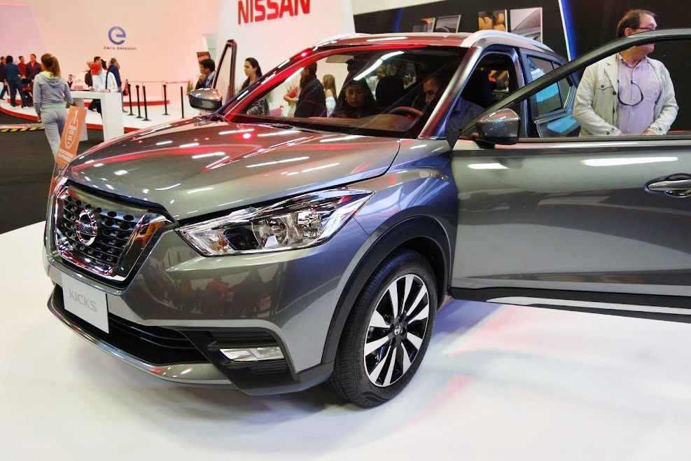 Nissan Kicks showcased at 2016 Bogota Auto Show