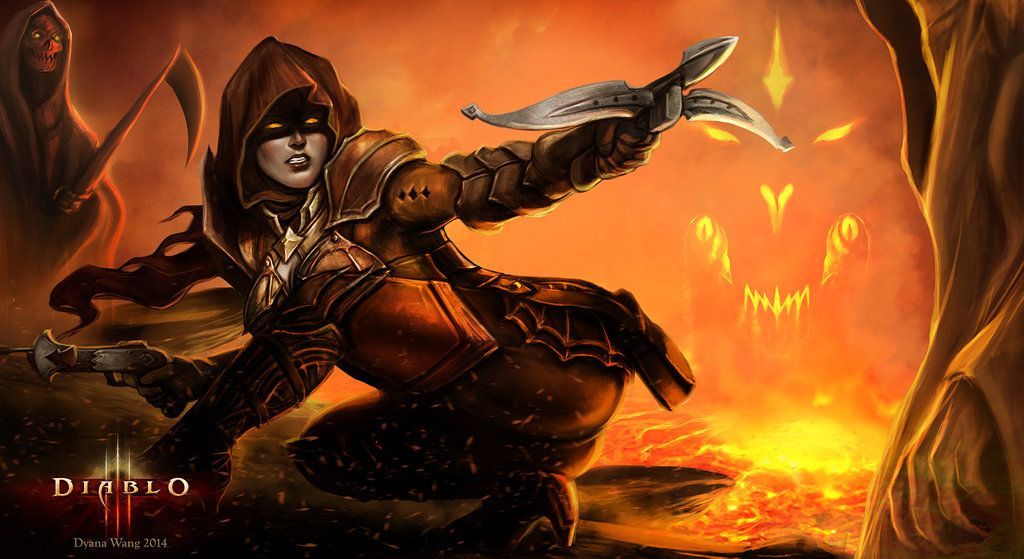 diablo iii reaper of souls demon hunter by dyanawang d79wqnl jpg 1024a 559