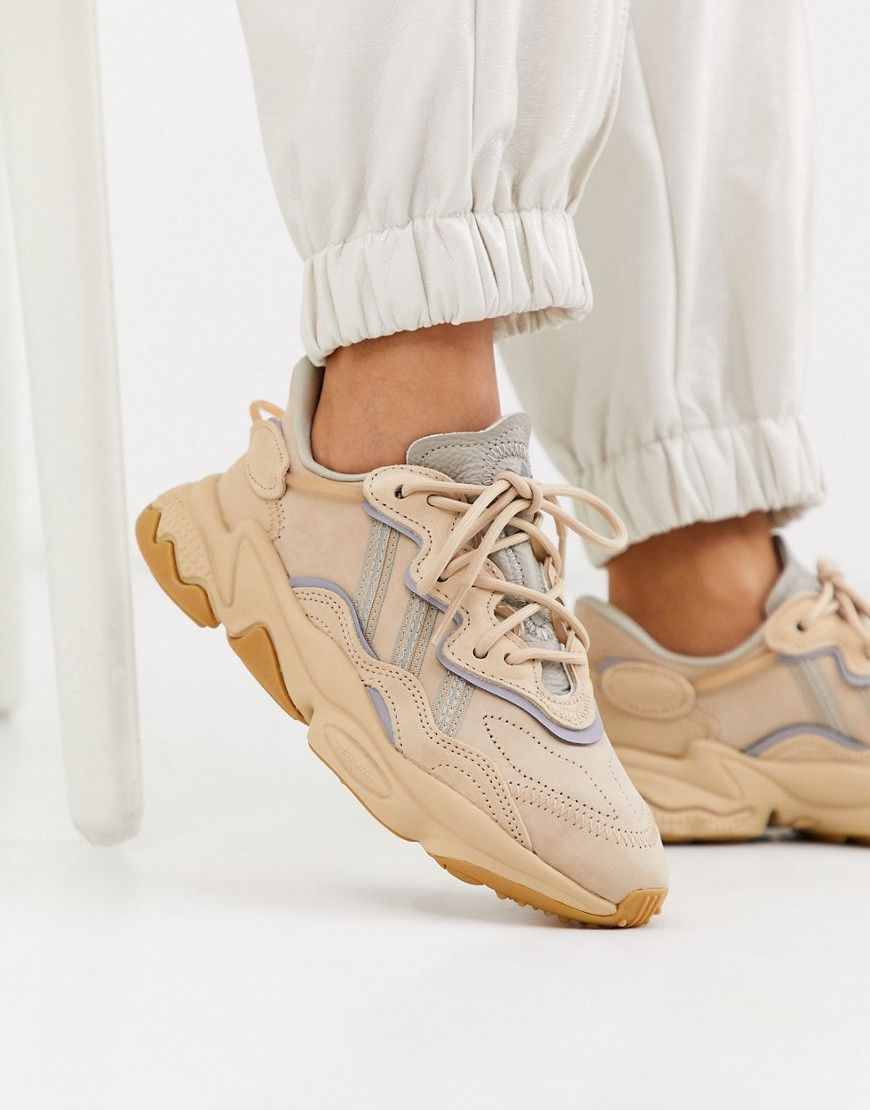 Adidas Originals Ozweego Sneakers In Beige | Mode, Chaussure