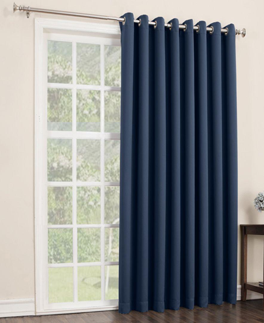 Preston 100 X 84 Blackout Grommet Patio Curtain Panel