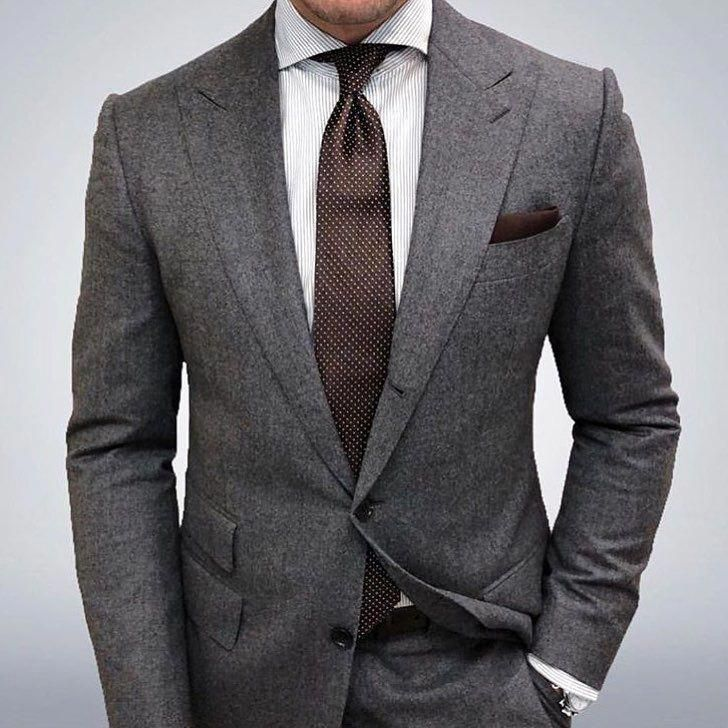 Suit Style For Men Mensfashion Menswear Suit Gq Menssuits Suits Men Business Mens Fashion Inspiration Grey Suit Men