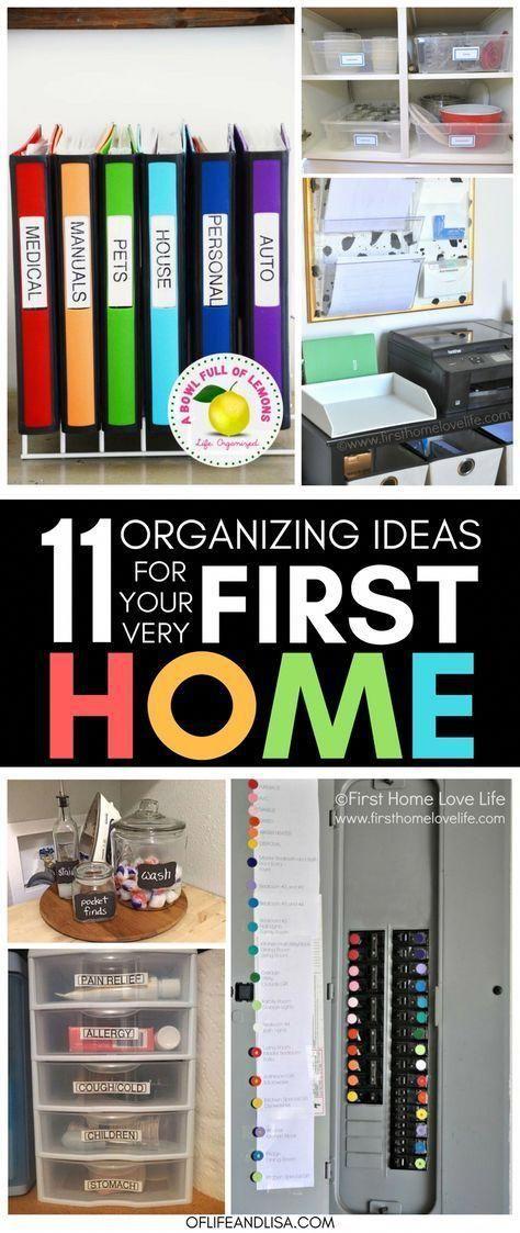 11 de las MEJORES ideas para organizar tu primer hogar  De la vida  lisahogar consejos y guía para la compra de casas