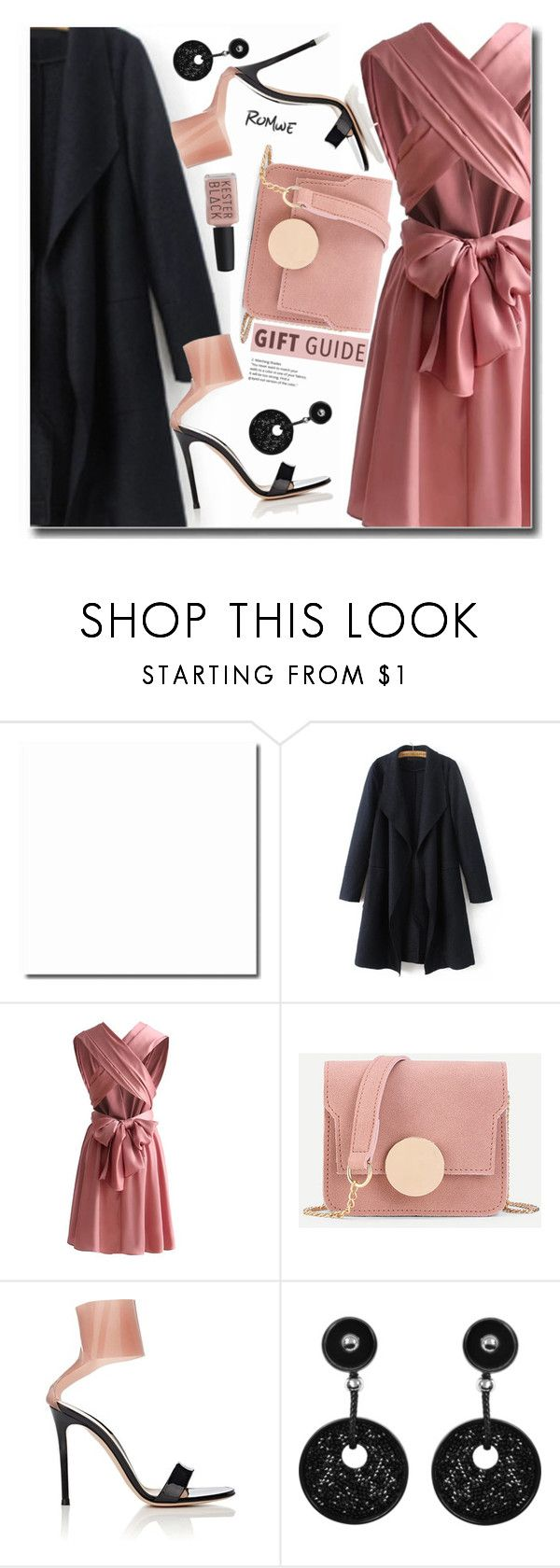 """""""Gift"""" by soks ❤ liked on Polyvore featuring Gianvito Rossi, Giorgio Armani, Kester Black, dress, polyvoreeditorial and CoffeeDate"""