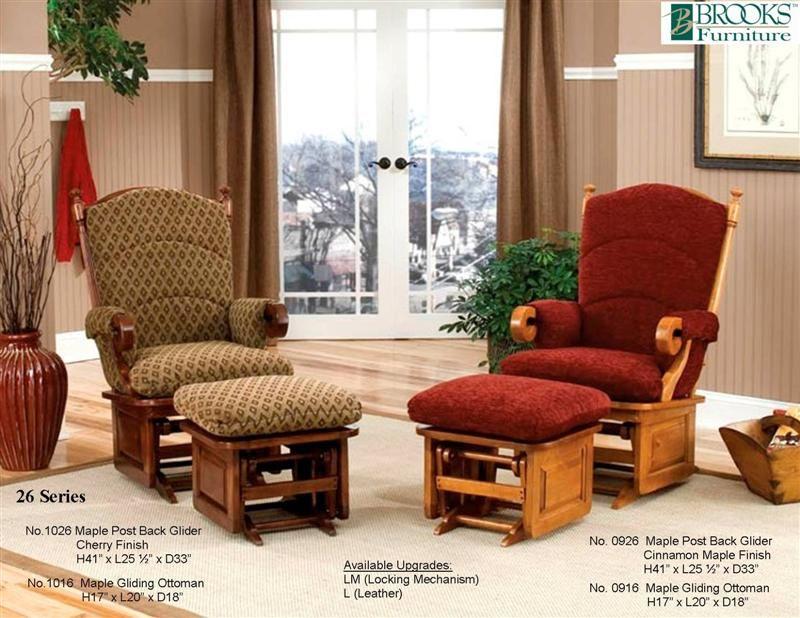 Brooks Furniture 26 Series Glider Rocker