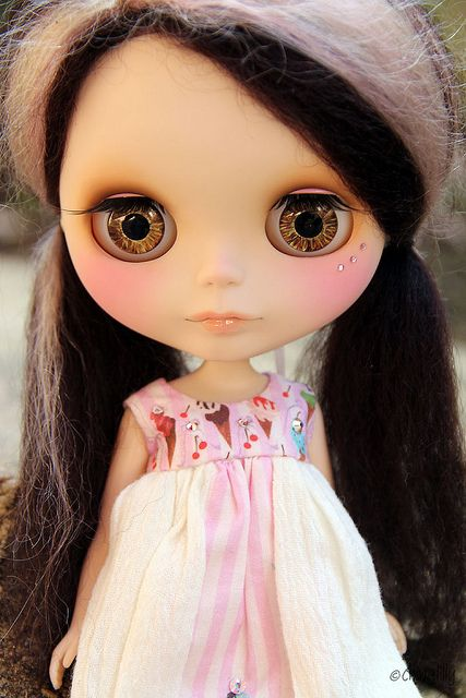 Chocolate eyes & Chocolate hair by china-lilly, via Flickr
