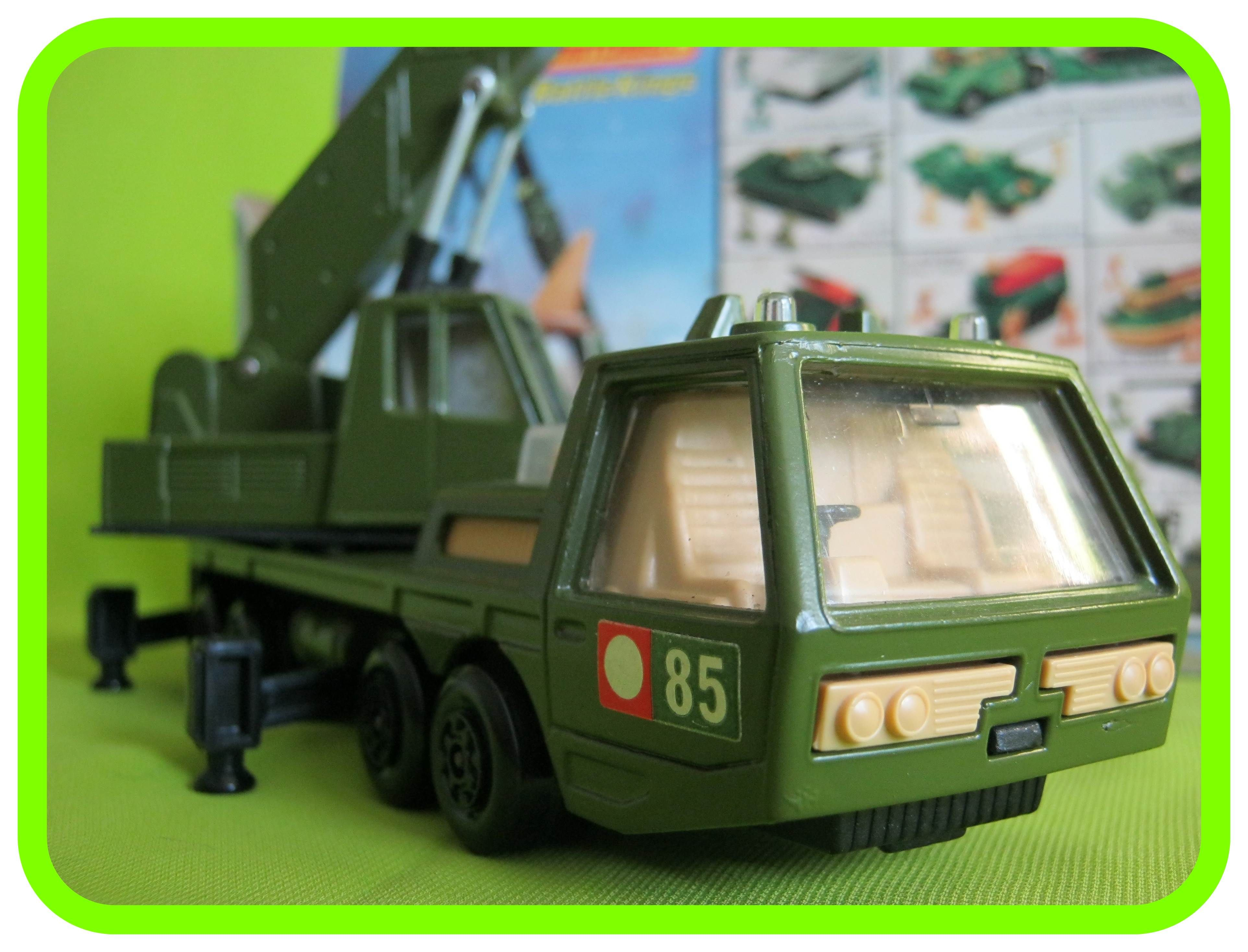 K113 Armoured Mobile Crane Mattel hot wheels, Toys r us kids