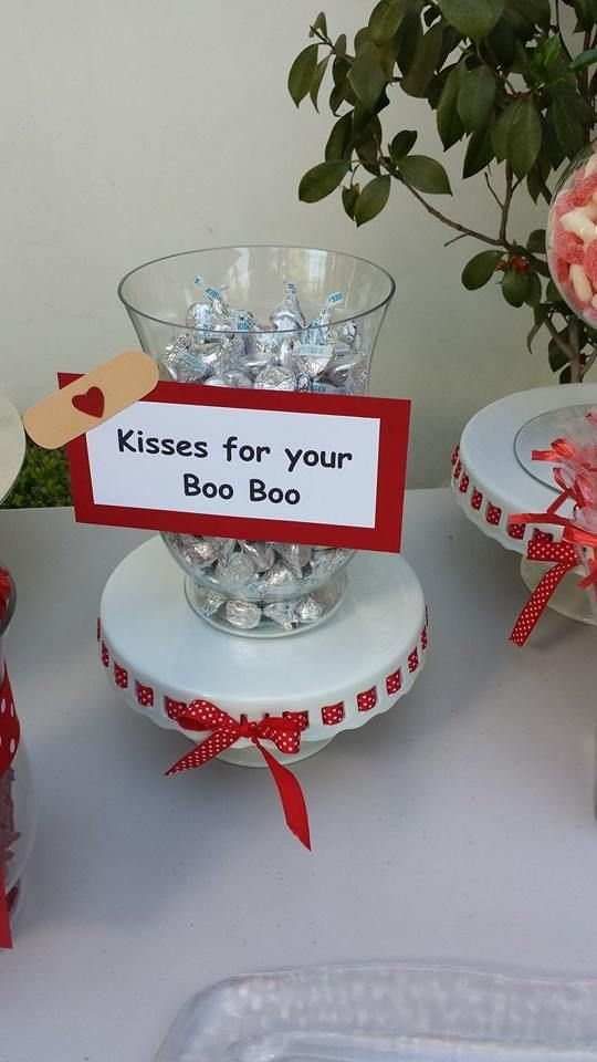 A cute idea to have at a #Nursing graduation party ...