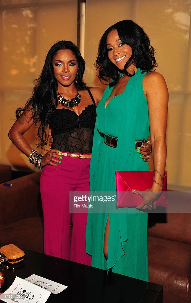 Rasheeda And Mimi Faust Attend The Vh1 Love And Hip Hop Atlanta Mimi Faust Hip Hop Atlanta Love N Hip Hop