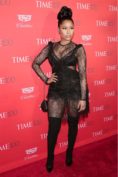 Nicki Minaj in Givenchy by Riccardo Tisci