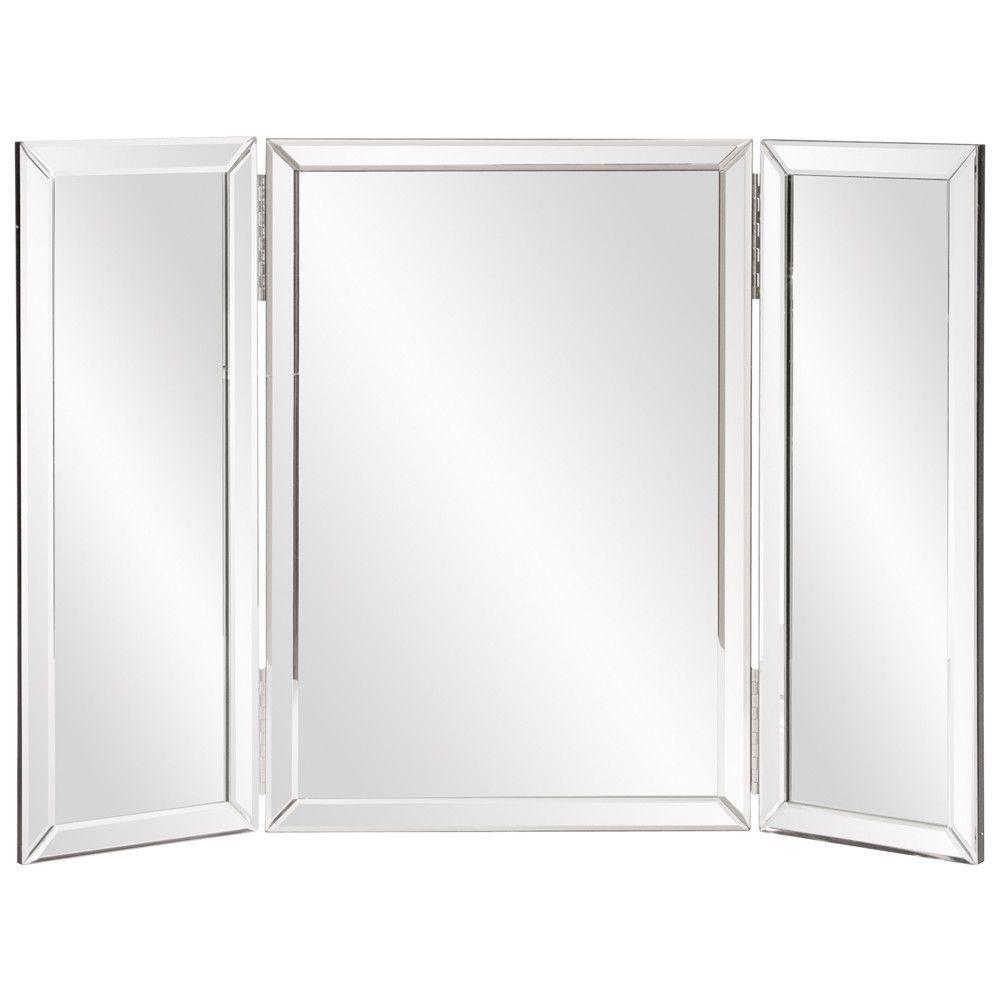 Howard Elliott Tripoli Trifold Vanity Mirror & Reviews | Wayfair ...