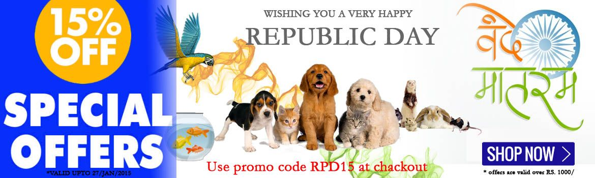 Special Offers Republic Day Get 15 Off Online Pet Store Pet Store Pet Toys
