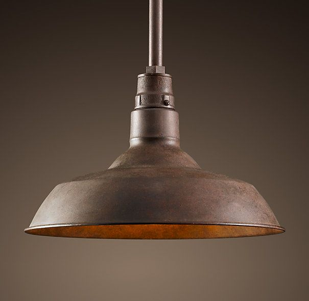 Vintage Barn Pendant Hanging Light Fixtures Rustic Pendant Lighting Barn Lighting