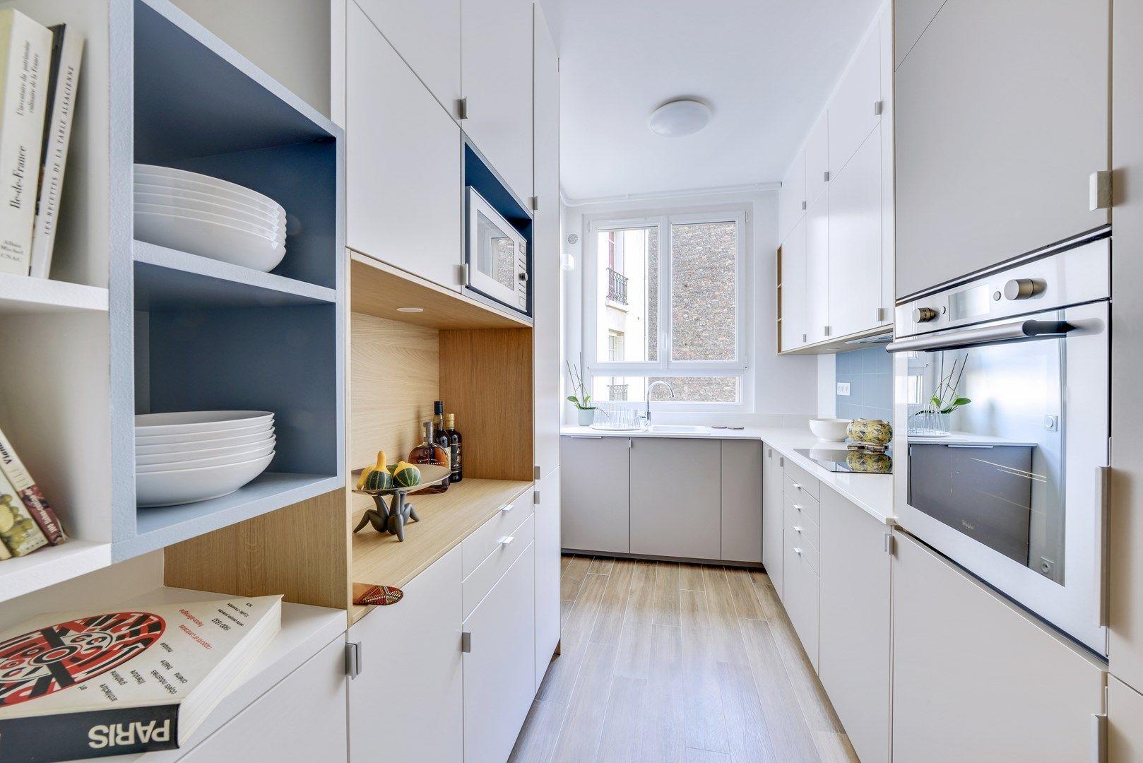 Appartement Haussmannien Decoration Classique Cuisine Ikea Ubbalt