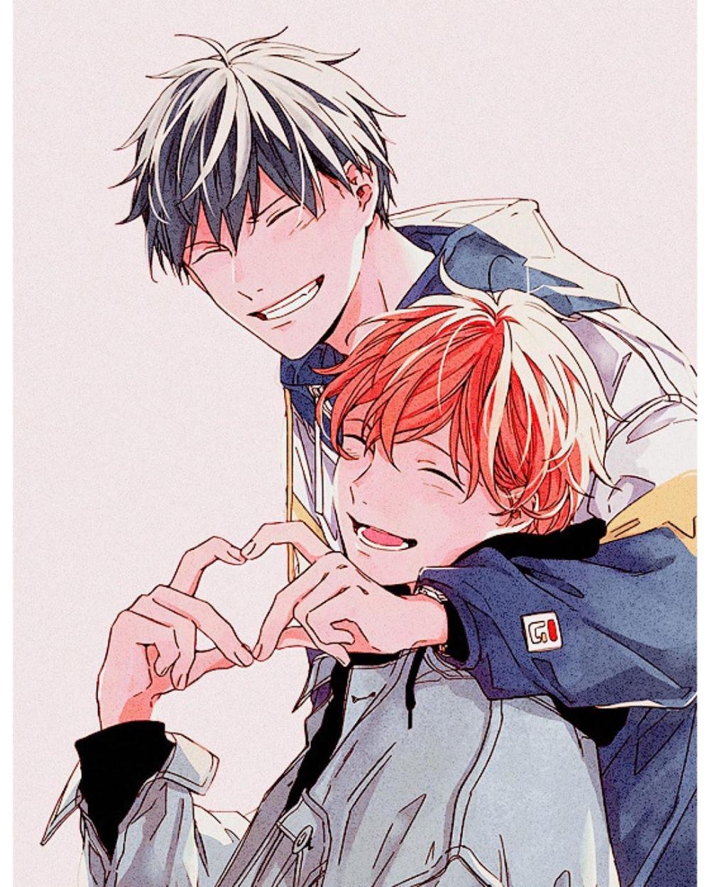 Ritsuka X Satou Pesquisa Google Anime Fan Art Personajes De Anime Parejas De Anime Manga
