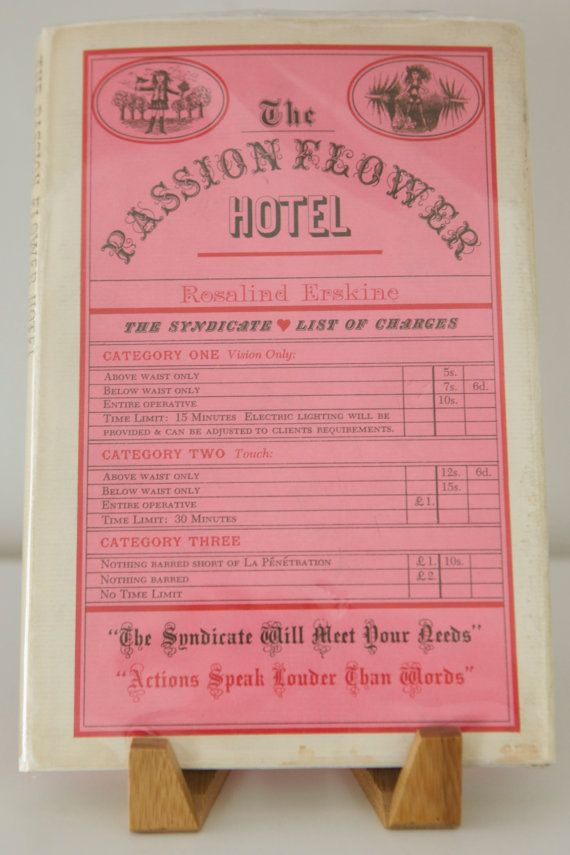 1962 Book The Passion Flower Hotel Pink By Railroadgirlvintage 9 99