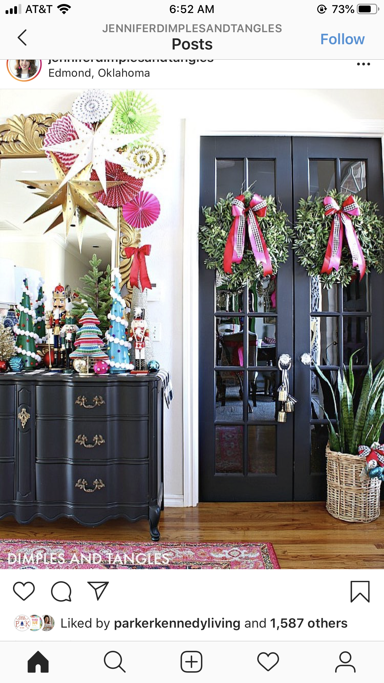 Pin by Katie Morey on Christmas in 2020 Christmas house