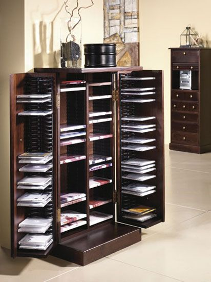 Mueble cd y dvd nuestra casa tendr pinterest - Para guardar cds ...