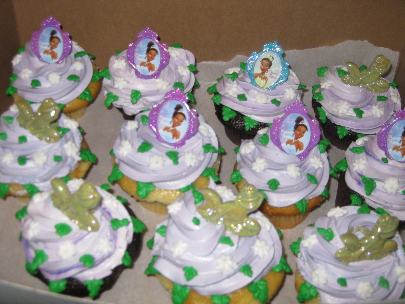 Princess And The Frog Cupcakes Inspirations By Thyjuan Llc The