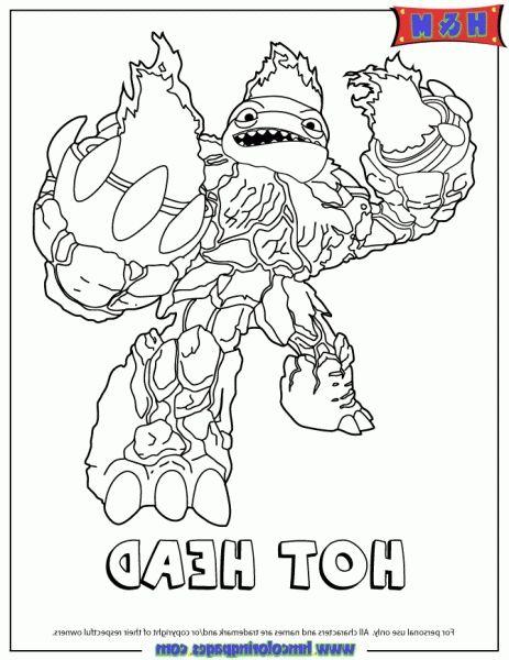 Eyebrawl skylanders free coloring pages for Skylanders giants coloring pages eye brawl