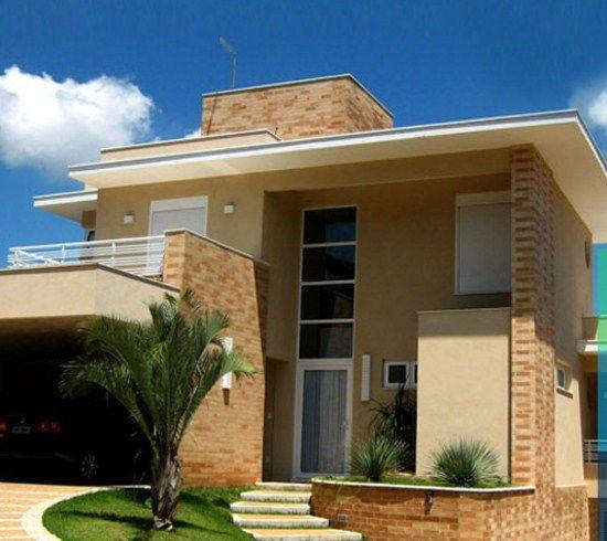 Materiales para fachadas exteriores de casas perfect for Materiales para fachadas exteriores
