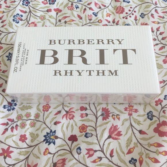 New mark down!!! Burberry Brit Rhythm body lotion Brand new. Body lotion for her! Burberry Makeup