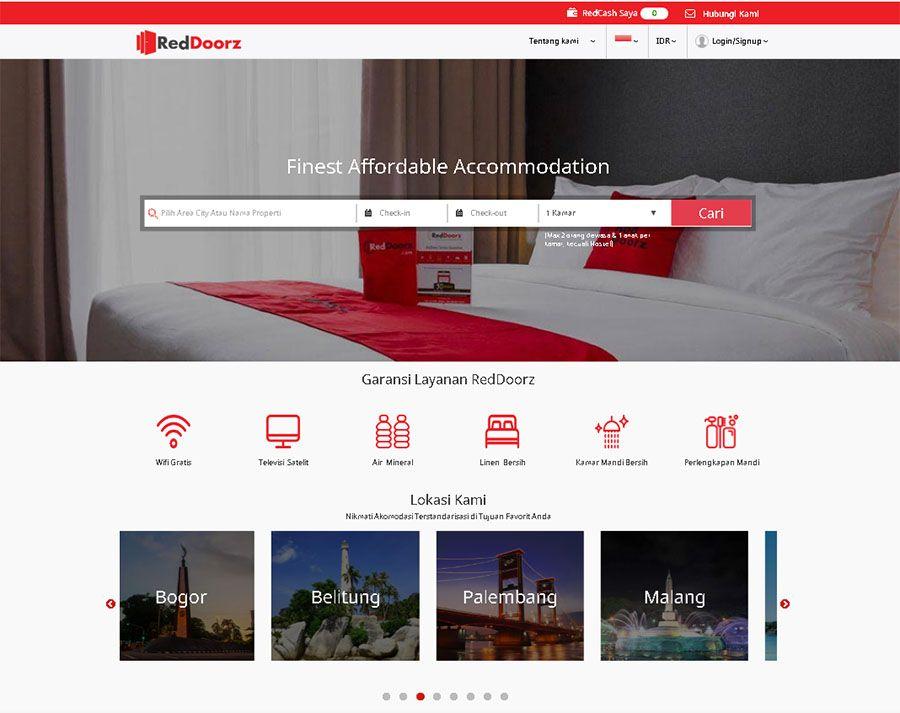 Reddoorz Berhasil Mengumpulkan Investasi Us 45 Juta Dalam Putaran Pendanaan Seri B Mnc Group Turut Dalam Pendanaan Tersebut Investasi Pedalaman