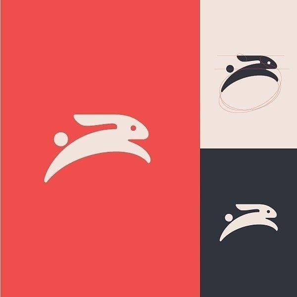 Minimal bunny logo | Type Gang