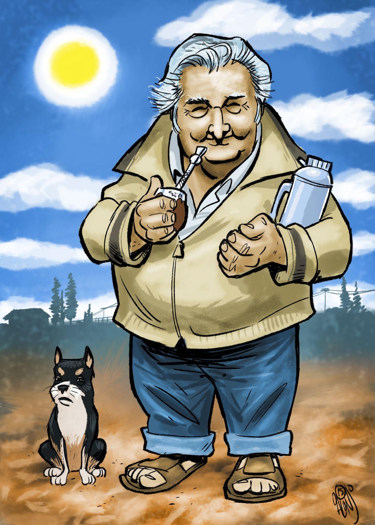 Ex Presidente de Uruguay, Jose Mujica. Former Uruguay President ...