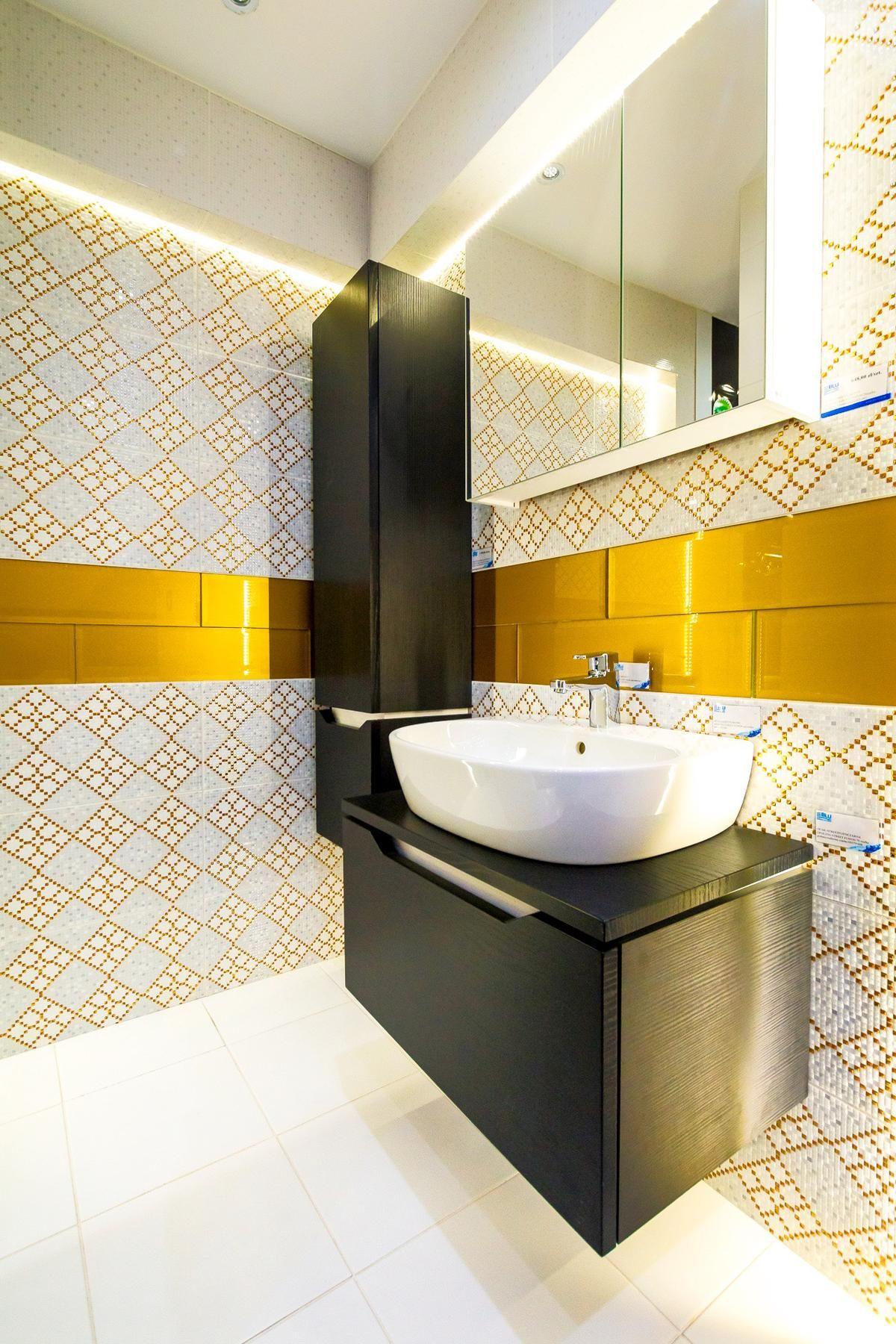 Płytki łazienkowe Opoczno Wzorzysta Elegancja Zdjęcie Od