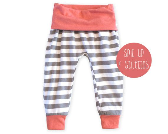 009 Eden Baggy Harem Pants PDF Sewing Pattern Kid Baby Boy Girl Knit ...