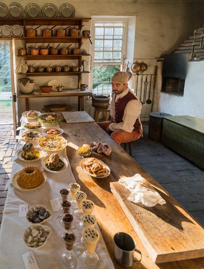 Kitchen At The Governor S House Williamsburg Colonial Williamsburg Virginia Colonial Kitchen Colonial Williamsburg