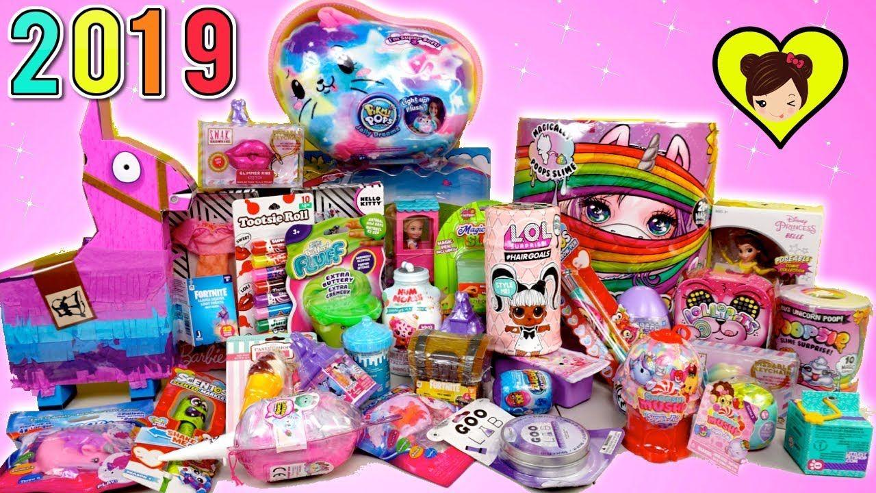 Abriendo Nuevos Juguetes Bebe Unicornio Poopsie Barbie Pikmi Gigante Slime Bebé Unicornio Juguetes Bebe Juguetes