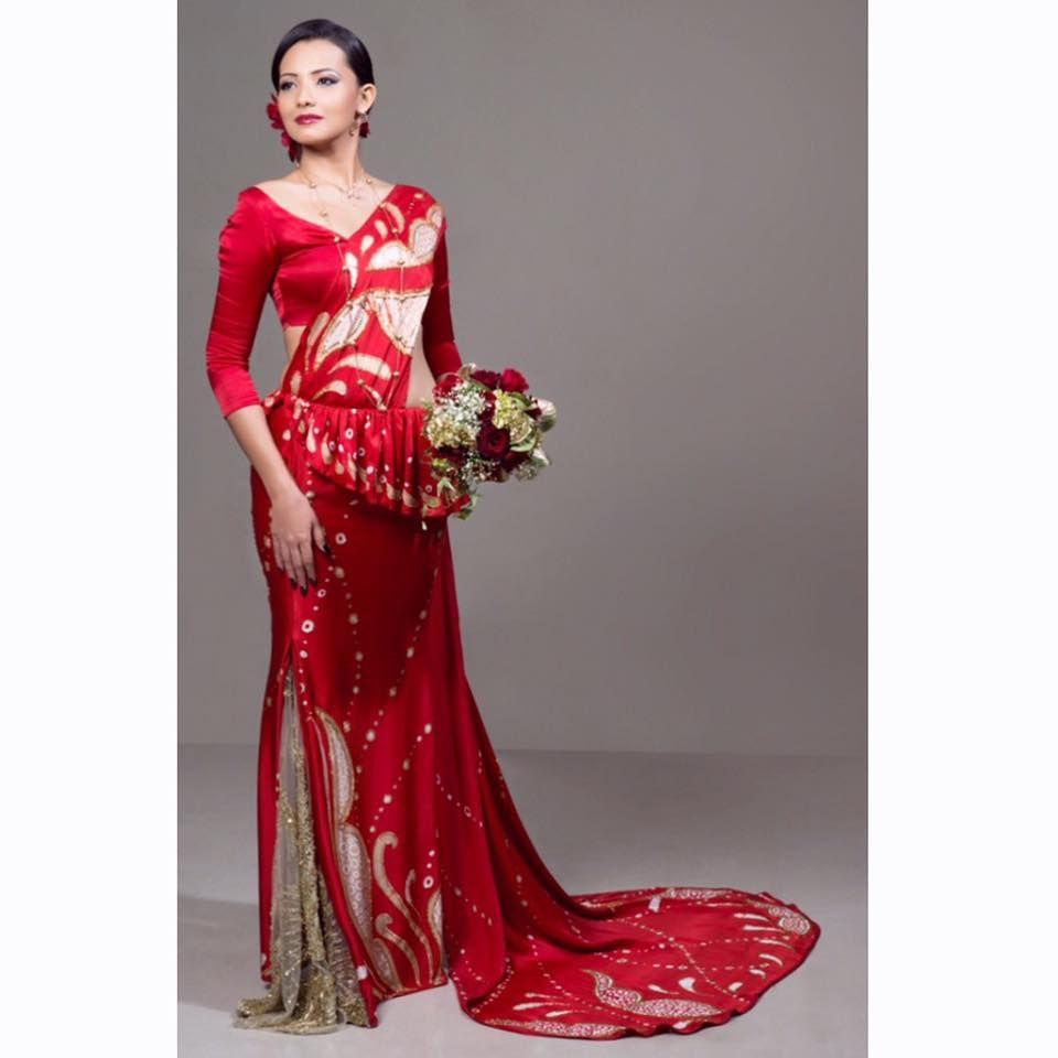 Batik Dress, Recycled Dress, Formal Dresses