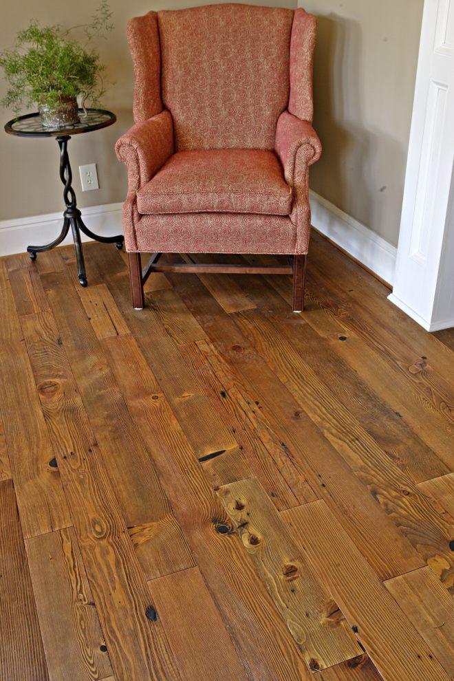 Heart Pine RECLAIMED wide plank flooring. - Tavern Grade ...