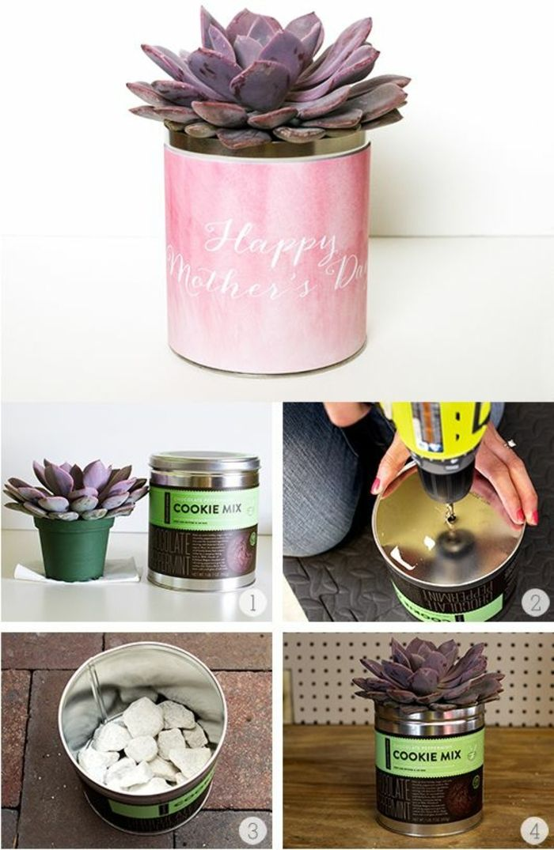 1001 ideen f r blument pfe dekorieren mit stil und lust blument pfe lila blumen und bohrmaschine. Black Bedroom Furniture Sets. Home Design Ideas