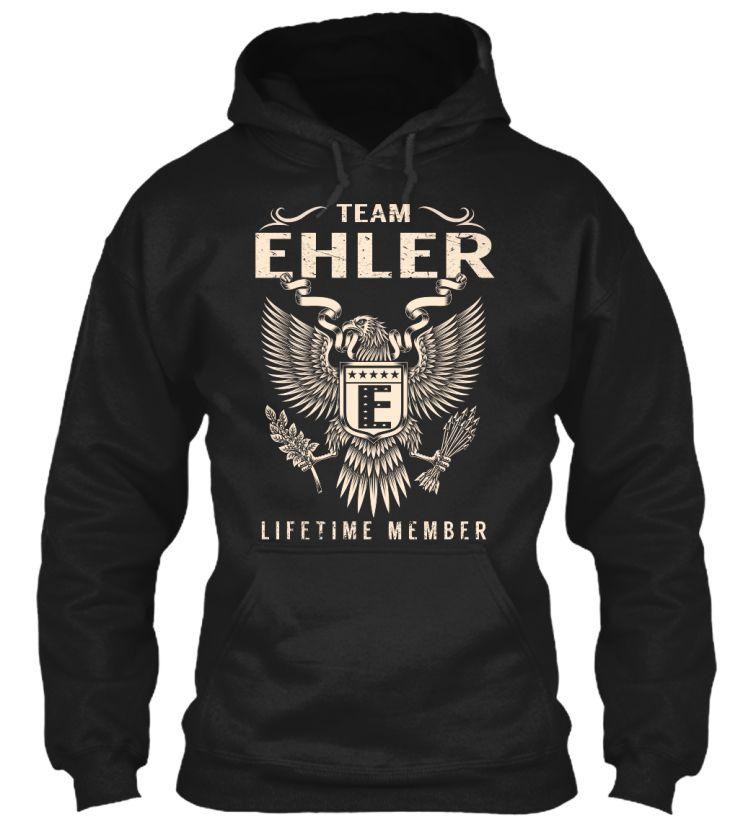 Team EHLER Lifetime Member #Ehler