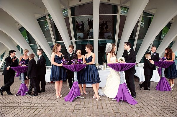 8 Perfect Color Combinations for Your Wedding - Purple, Silver and ...