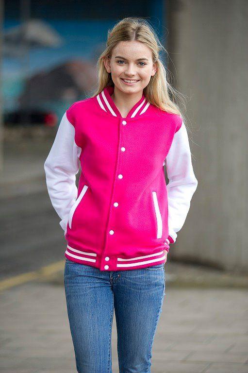 Hot Pink Varsity Jacket | hot-pink-varsity-jacket.jpg | Jackets ...