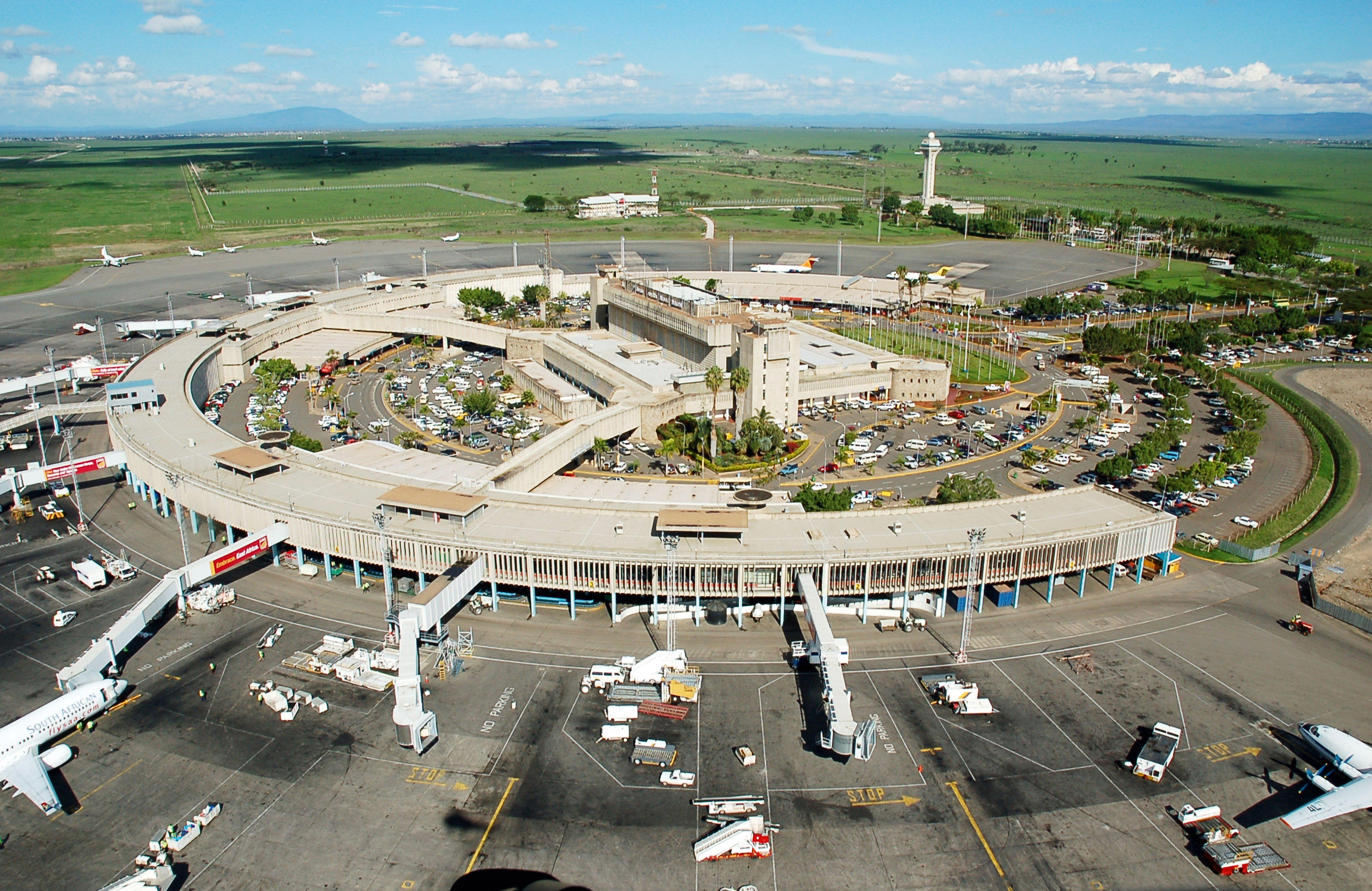 Aeroporto Nairobi : Nairobi airport airplanes airports airlines and